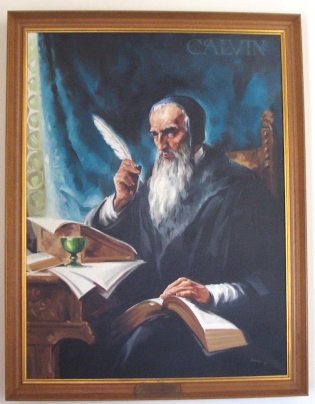 Calvin painting, Schenectady, NY